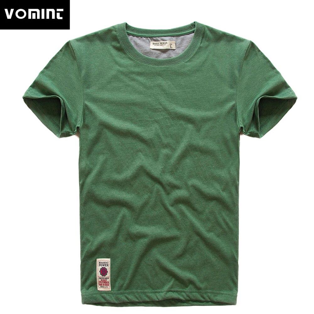 Vovint, nueva camiseta de manga corta para hombre, camiseta estampada, algodón, multicolor, Fancy Yarns, camiseta para hombre, Color gris, verde, azul claro