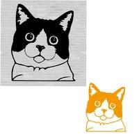 metal cutting dies cute kitten cut die mold frame scrapbook paper craft knife mould blade punch stencils dies