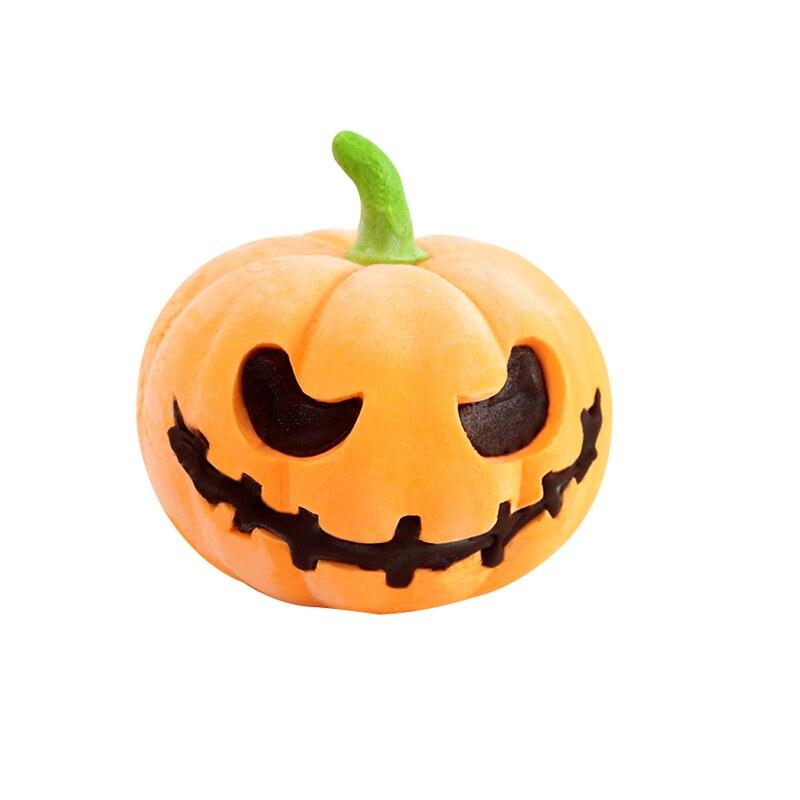 Molde de Bolo de Mousse de Silicone Feito à Mão Halloween Abóbora Artesanato Molde