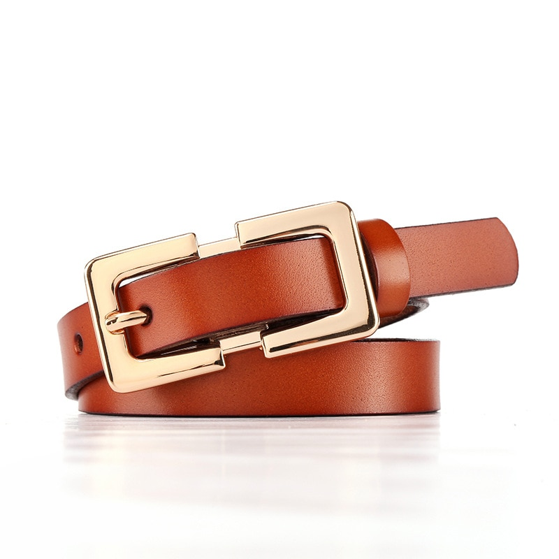 ELEGZO Genuine Leather Belts For Women Fashion Jeans Pin Buckle Female Solid Color Cattle Belt Newwork Hot Selling Waistband elegzo genuine leather belts for women fashion retro jeans belt female solid color pin buckle network hot selling waistband