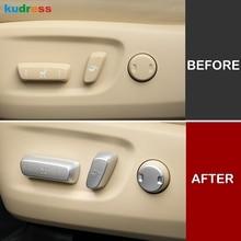 For Toyota Highlander 2019 2018 2015-2017 Interior Accessories car Seat Adjust Switch Button Cover Trim Decoration