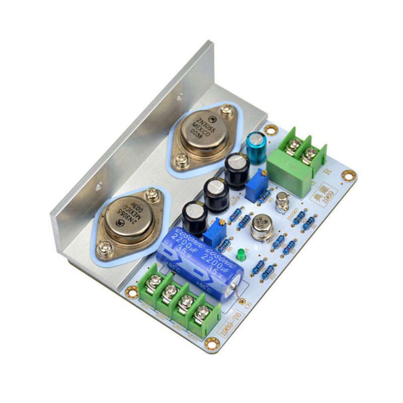 Placa amplificadora de potencia HiFi, PCB ensamblada, Kit de bricolaje, nueva, 2021,...