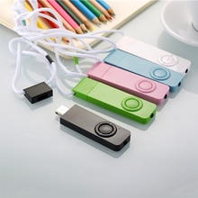 5Colors Portable USB Mini MP3 Music Player Support Micr-o SD TF Card Learning Sports Speaker Sport M