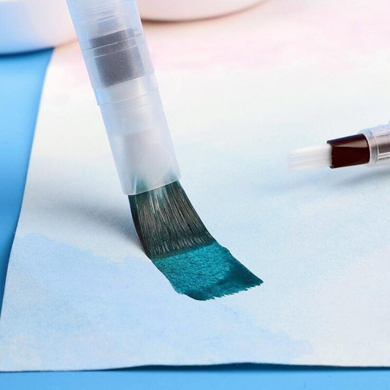 3/6 PCS Water Paint Set Soft Brush Pen Watercolor Brush Pen refillable Nylon Brush Tip Pen For Painting Drawing Art Supplies enlarge