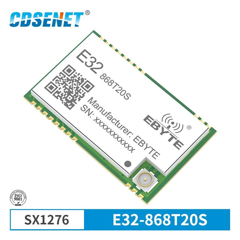 SX1276 868MHz 100mW SMD Wireless Transceiver CDSENET E32-868T2 0S 868 mhz TTL 2000m Lange palette LoRa IPEX Sender und Empfänger