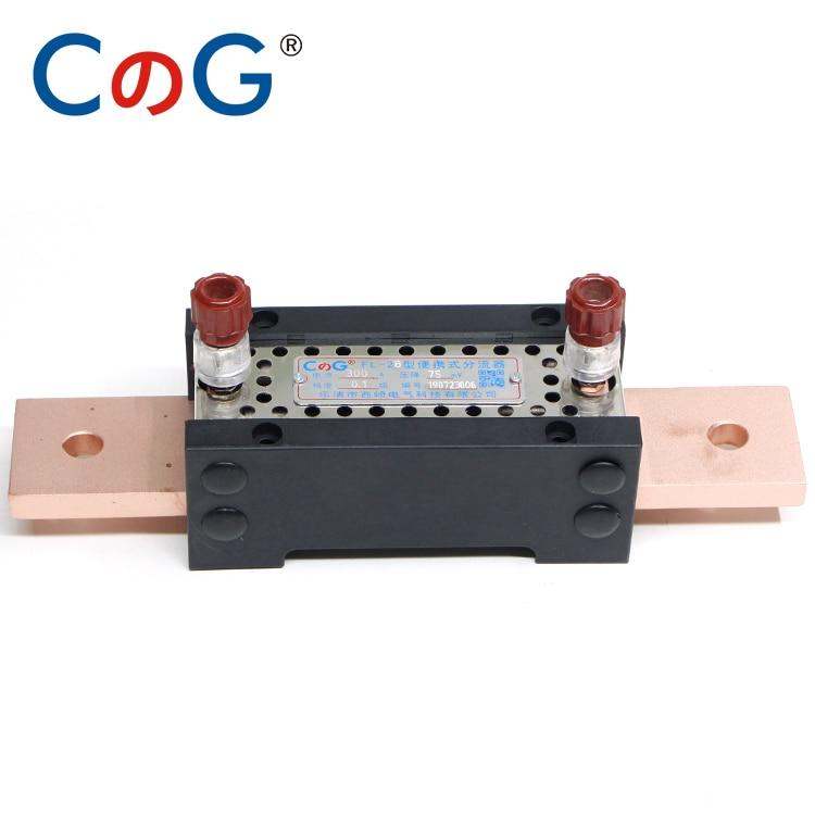 1a 10a 50a 100 300a 0.05 0.1% classe nível 20mv de cobre vermelho alta precisão medição laboratório específico dc shunt resistor
