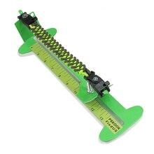 Bracelet de paracorde dartisanat de gabarit dacier inoxydable faisant des outils de tresse de support avec la boucle de mousqueton