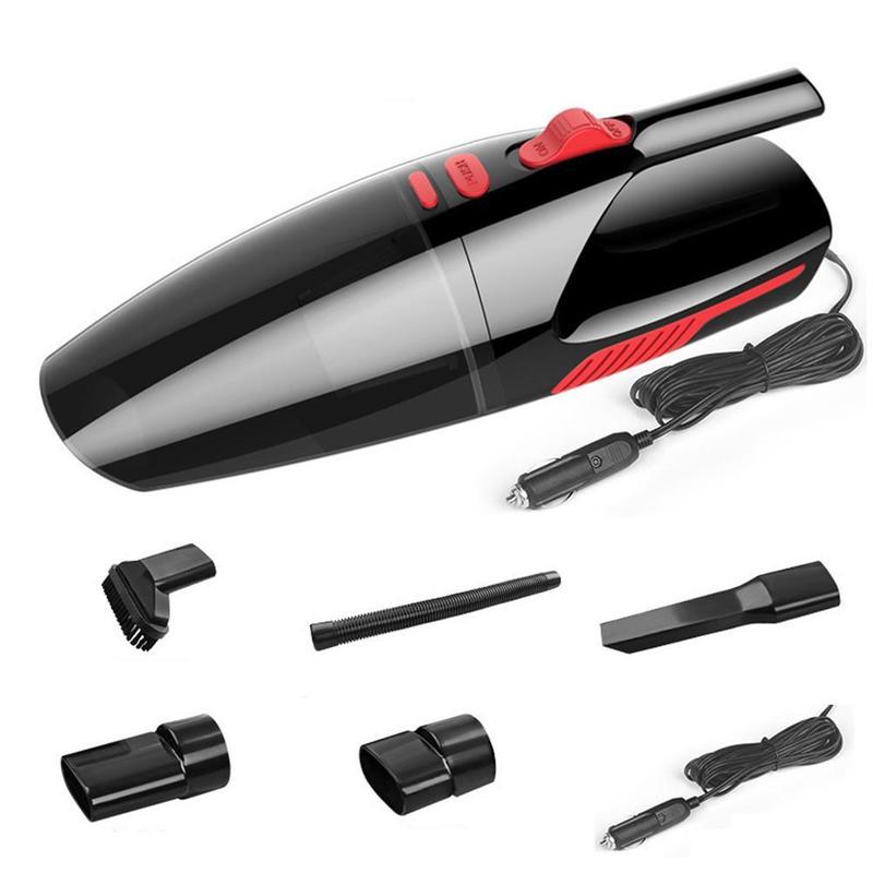 1 Uds aspiradora de coche recargable para coche disponible en húmedo y seco de doble uso aspiradora portátil de alta potencia
