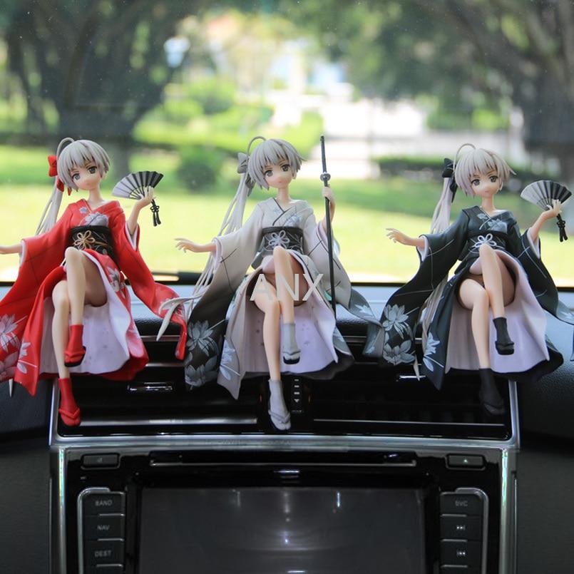 14CM Yosuga no Sora Figure PVC Action Anime Collection Peripherals Doll Model Toys Kimono Sora Figure for children gifts figure action figure pvc toys collection doll anime cartoon model 12cm