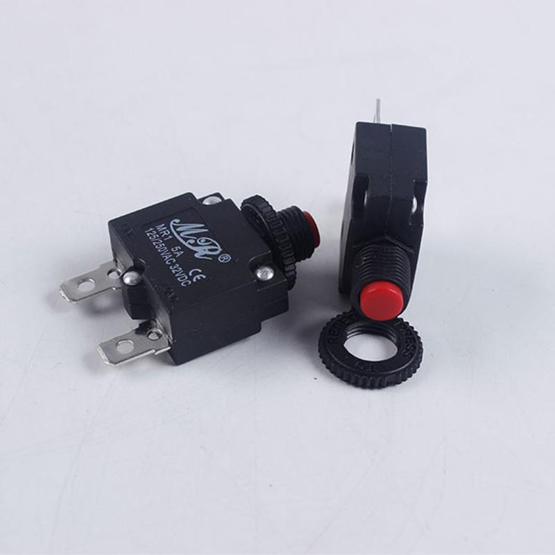 Disjoncteur de compresseur dair électrique   protection contre les surcharges thermiques, interrupteur de protection de courant pour pièces de générateur