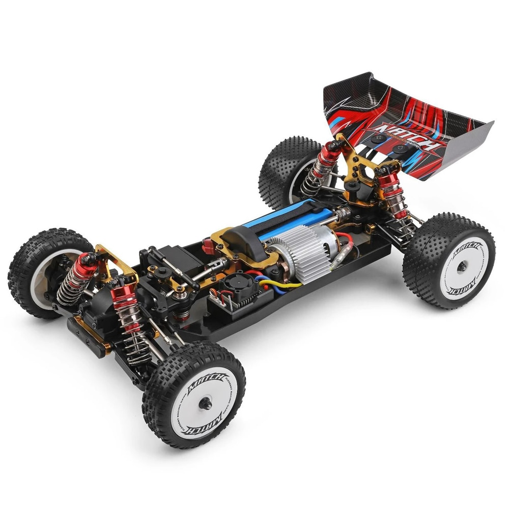 1:10 Racing RC Car Electric 60km/h 4WD Climbing Metal Chassis Hardware Oil Shock Absorbers Alloy Body Gear Remote Control Toys enlarge