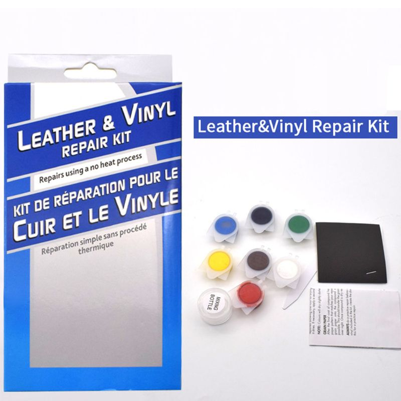 Sofas Leather Vinyl Repair Tool DIY Kit No Heat Liquid Car Seat Hole Rips Burns Household Gadget Multipurpose Renovate