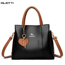 Luxury Women's Handbags Designer Leather Shoulder Bags for Women 2021 Large Capacity Ladies Fashion