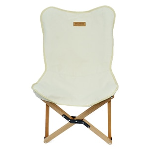 Outdoor Camping Barbecue Solid Wood Beech Butterfly Outdoor Folding Chair Solid Wood Beech Butterfly Chair Household Summer
