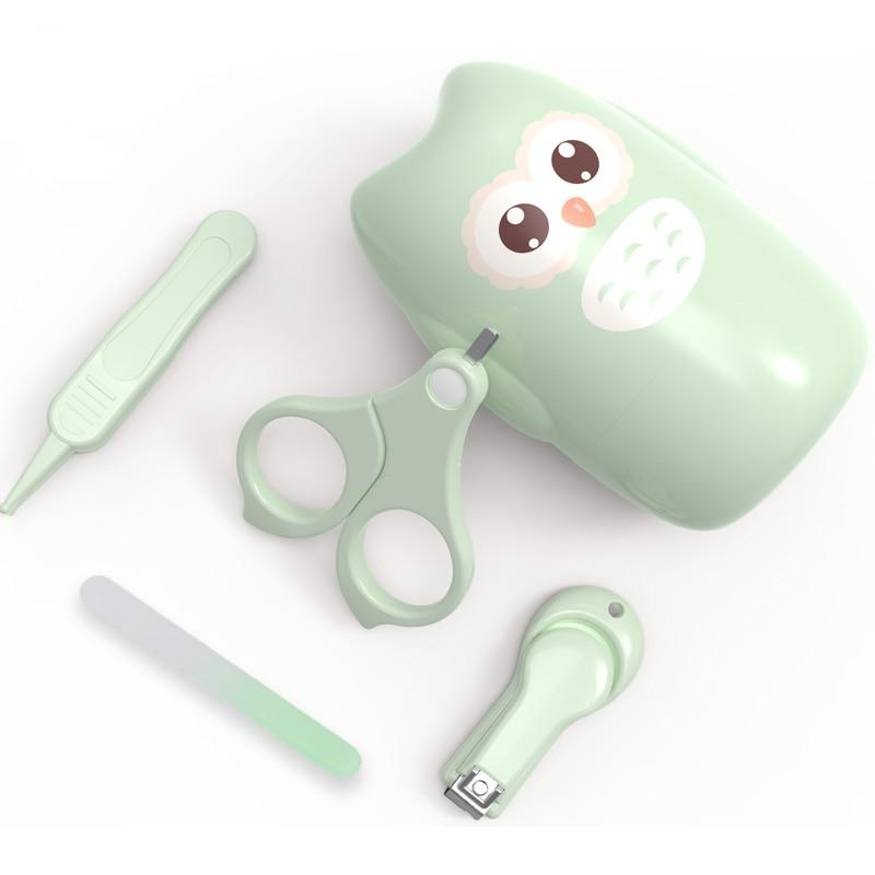 Набор триммеров для ногтей для новорожденных, детский набор для ухода за ногтями, Детские Безопасные портативные ножницы для ногтей, пинцет для путешествий, Детские гигиенические наборы