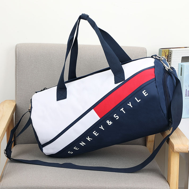 New Men Gym Bags For Fitness Training Outdoor Travel Sport Bag Shoes Pocket Multifunction Dry Wet Se