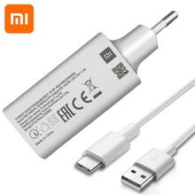 Original MI 9SE QC3.0 Fast USB Wall Charger Micro Usb and Type C Cable Quick Charge for Mi 9 8 SE CC9 A3 Mix Redmi Note 7 6 5 4