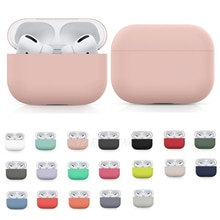 Silicone Case For Airpods Pro Case Wireless Bluetooth for apple airpods pro Case Cover Earphone Case For Air Pods pro 3 Fundas