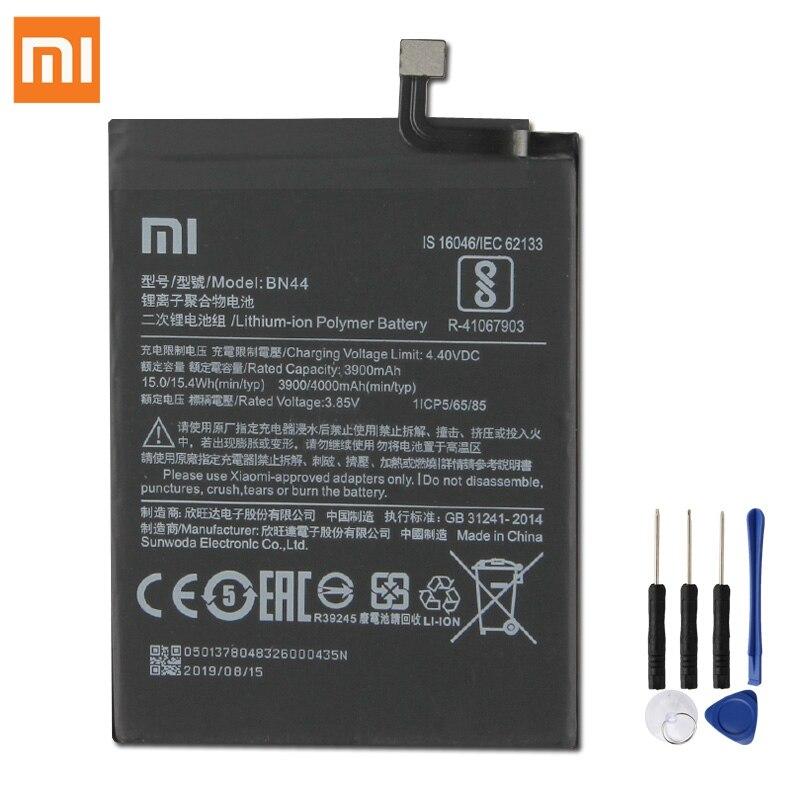 """Оригинальная запасная батарея для Xiaomi Mi Redmi 5 plus 5,99 """"Redrice 5 Plus BN44 натуральная батарея для телефона 4000 мАч"""