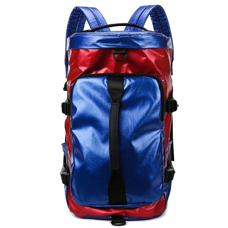 Mochila de viaje con purpurina para mujer, bolsa de deporte para niños, niñas, mochilas escolares, mochila de estudiante, bolsa de Fitness, hombro B354