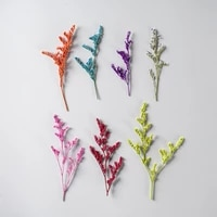 250pcs pressed dried flower codariocalyx motorius herbarium epoxy resin lamp nail art jewelry bookmark phone case card diy