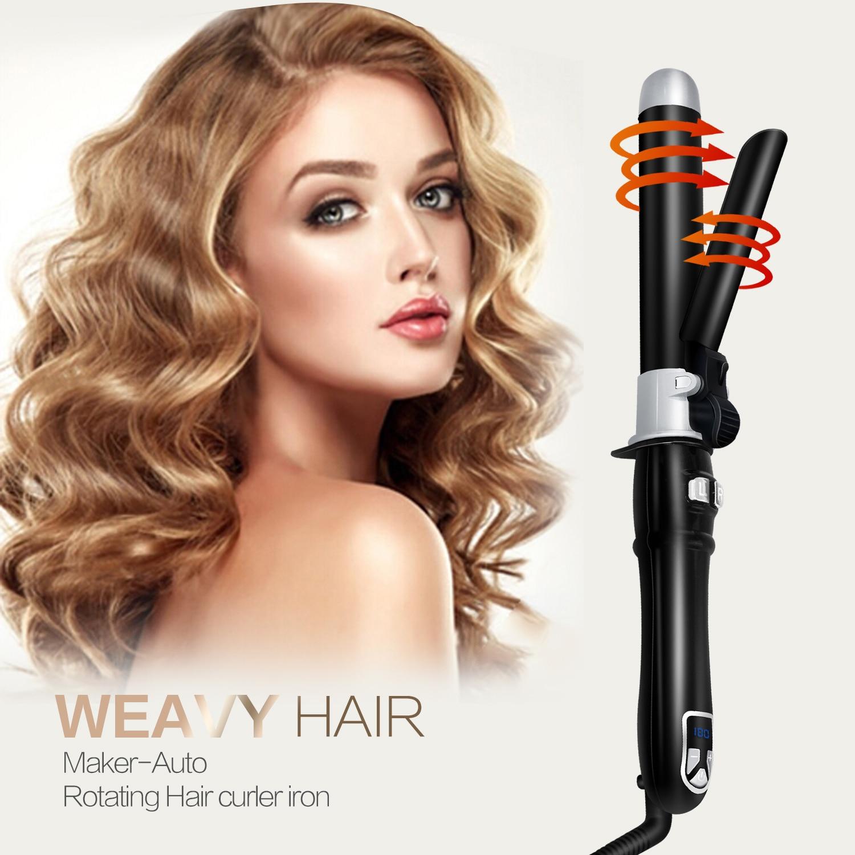 ¡Novedad de 2020! Rizador de pelo profesional de cerámica, rizador de pelo con Lcd, rizador de pelo, varita de rizador, herramientas de estilo de moda boucleur cheveux