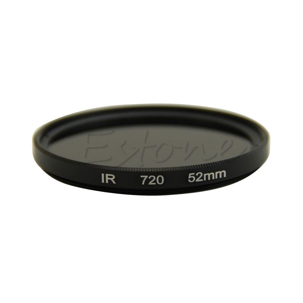 52mm infravermelho infravermelho infravermelho infravermelho ir pass x-ray lente filtro 720nm 720 vidro óptico 77ua