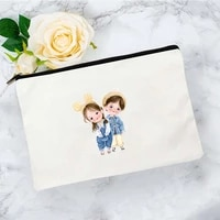 cute baby cosmetic bag for makeup pouch mini woman organizer storage bags women womens travel kawaii free shipping handbags