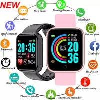 Смарт-часы Y68 мужские наручные, электронные смарт-часы, фитнес-монитор, подарок для Huawei SB001