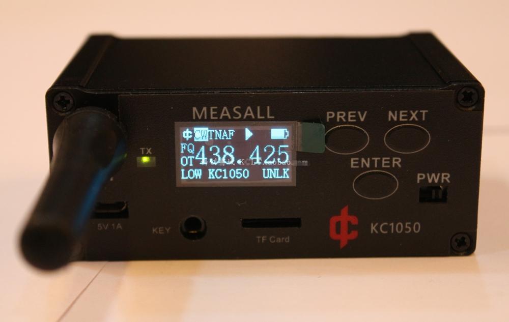 KC1050 ل UHF/راديو ذو تردد عالي جدًا جهاز إرسال منارة يدعم CW FM للبحث عن أهداف البحث عن اتجاه التدريب