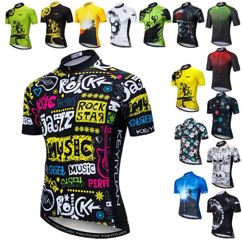 Weimostar-Maillot de Ciclismo para hombre, ropa de Jazz para Ciclismo de montaña...