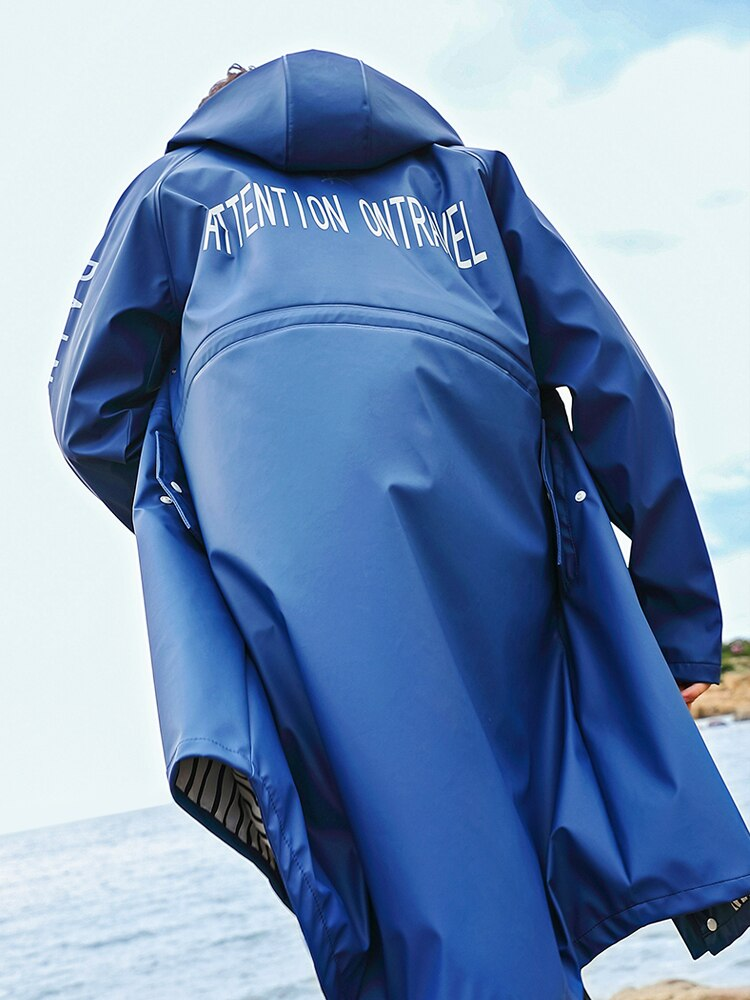 Luxury Fashion Raincoat Jacket Waterproof Poncho Outdoor Hiking Raincoat Cycling Rain Protection Capa De Chuva Rain Gear BC50YY enlarge