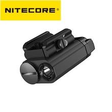 NITECORE NPL20 Flashlight CREE XP-G3 S3 LED 460Lumen Weapon Light 1xCR123A Tactical Outdoor Shoot Hu