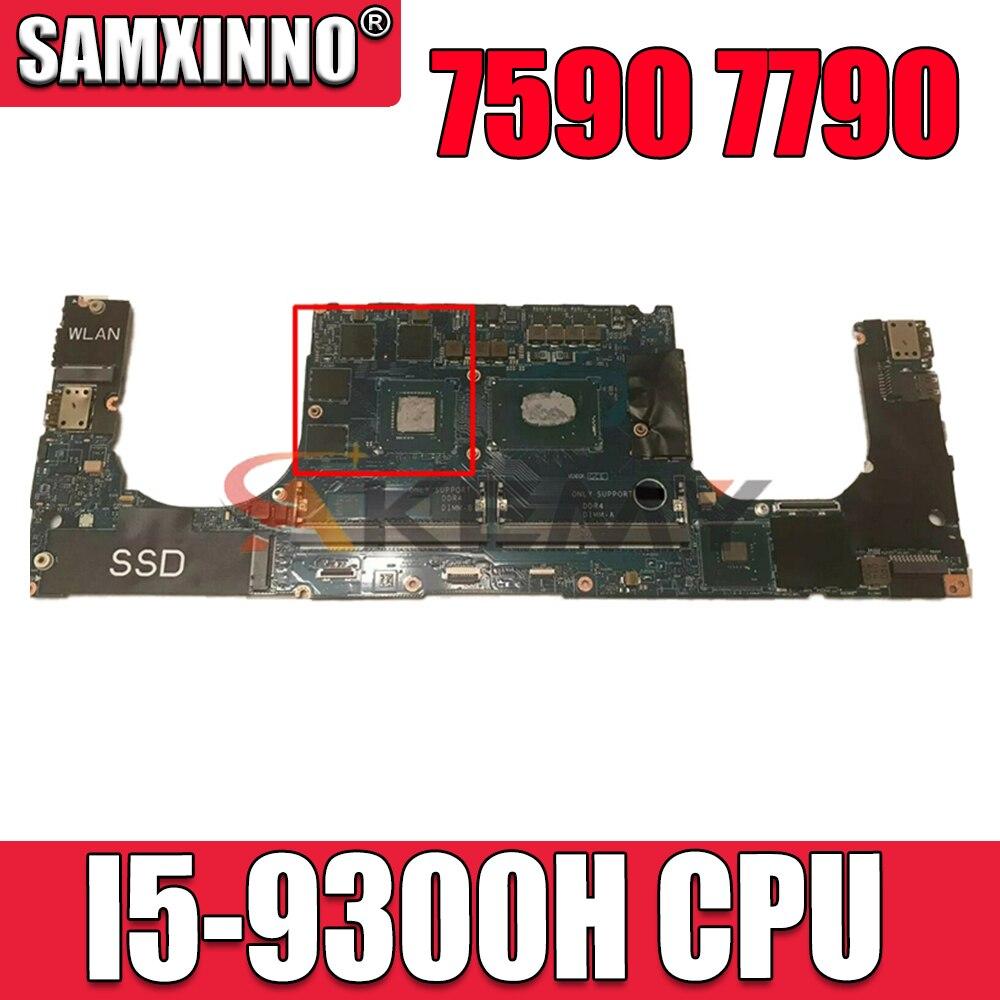 لديل 7590 7790 اللوحة المحمول SRF6X I5-9300H وحدة المعالجة المركزية مع CN-0205NX 0205NX 205NX LA-H331P 100% العمل جيدا