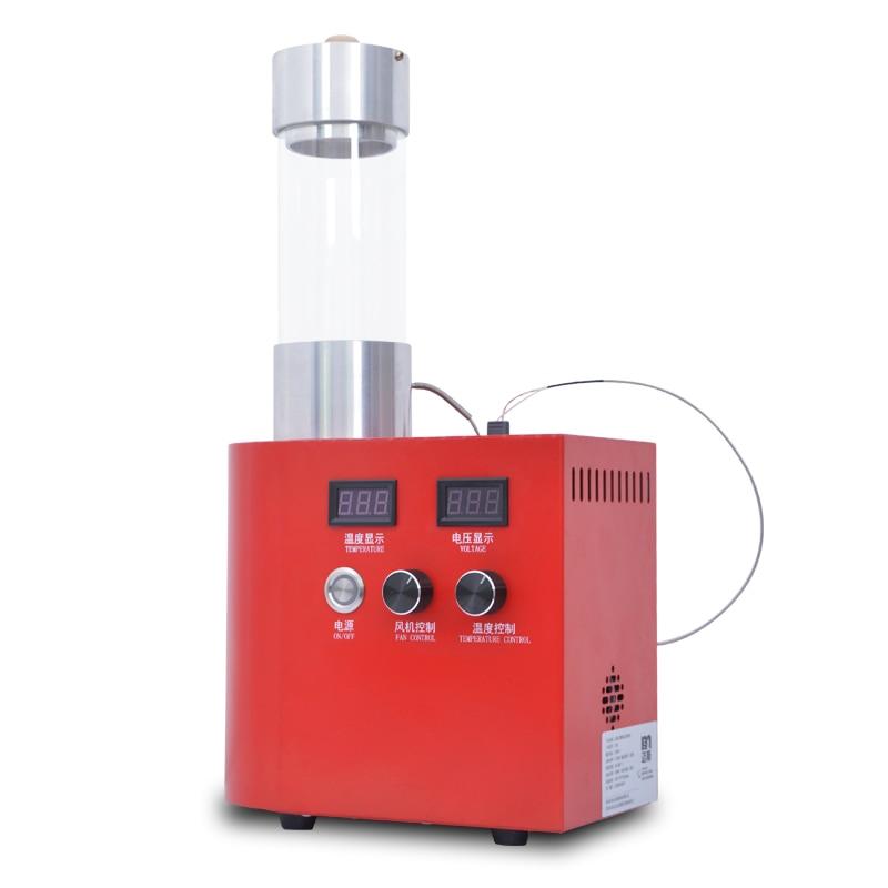 Профессиональная хорошая производительность 220 В электрический горячий воздух 150 г аппарат для обжарки кофейных зерен машина для обжарки дома и коммерческих