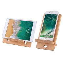 Support de tablette pour téléphone   Personnalisation en usine, support en bambou Compatible avec Pad, tablette, accessoires, languette