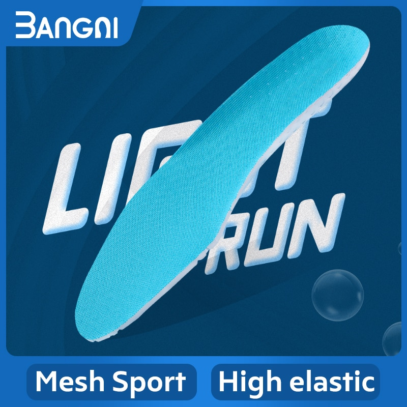AliExpress - 3ANGNI Light Sports Insoles For Women Men Running Comfortable EVA Shoe Pad Breathable Insert Cushion For Foot.