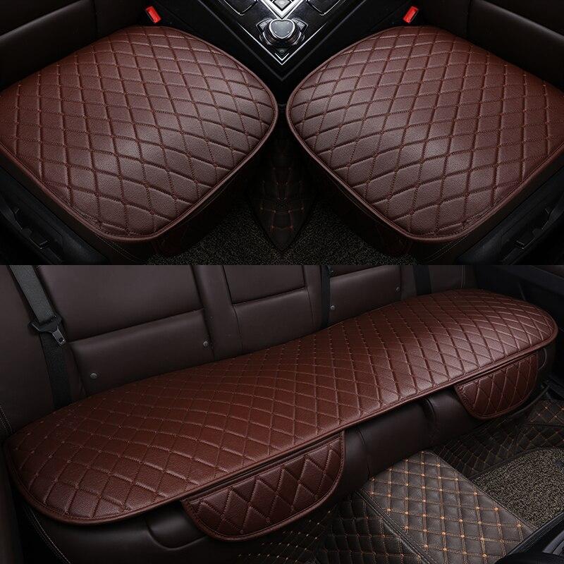 ZRCGL, fundas universales de cuero para asientos de coche para Fiat, todos los modelos 500L 500 2007-2014, punto Bravo Viaggio Freemoauto, estilismo para coche