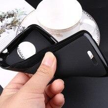 Moda silikon siyah arka kapak Umi Umidigi londra güç 3 roma X F1 oyun Pro Max F2 A3S ince yumuşak telefon koruyucu kılıf