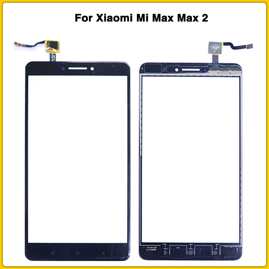 Nueva pantalla táctil para Xiaomi mi Max 2 pantalla táctil Panel digitalizador Sensor lcd recambio de lentes de vidrio frontal