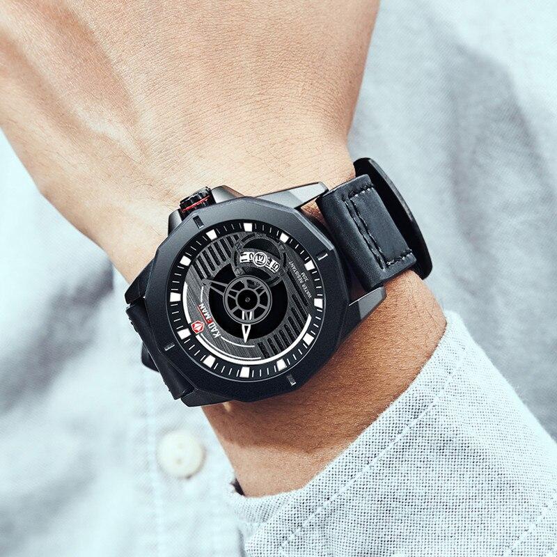 Design de Moda Relógio de Pulso 3atm à Prova Kademan Relógio Masculino Luxo Quartzo Militar Esporte D3água Relógios Banda Couro Montre Pour Homme