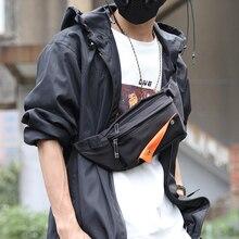 FYUZE Waist Bag 2020 Couple Pack Harajuku Style Shoulder Chest Bag Hip-Hop Man Fashion Sling Bag for