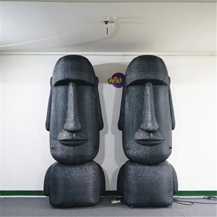 Выставочная надувная идоловая скульптура, рекламная надувная эмульсионная идоловая скульптура