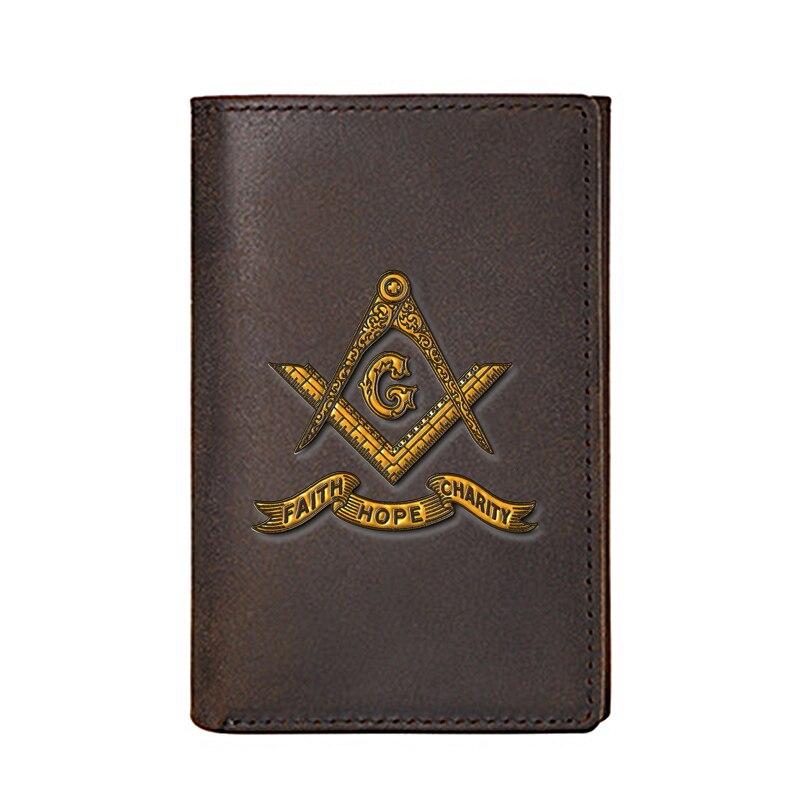 Индивидуальный мужской кошелек из натуральной кожи, высококачественные роскошные визитницы в стиле манезона, мужские кошельки, сумки для д...