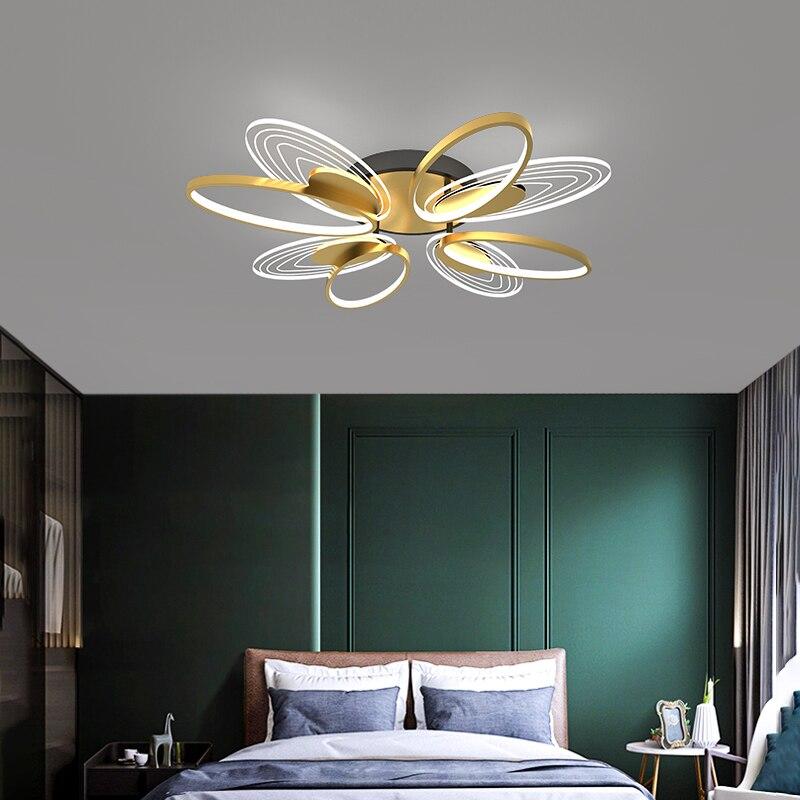 ثريا LED عصرية ، ثريا أكريليك عالية النفاذية تحمي من الدوار ، مناسبة لتشاند عصرية وعصرية