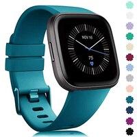 Сменный ремешок для Fitbit Versa Lite, мягкий силиконовый водонепроницаемый браслет для наручных часов Fitbit Versa 2, Аксессуары для браслета