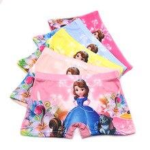 1 Pcs Cotton Boxer Briefs Girls Underwear Princess Children Kids Baby Panties Girl Underwear Kids Culotte Fille Girls Panties
