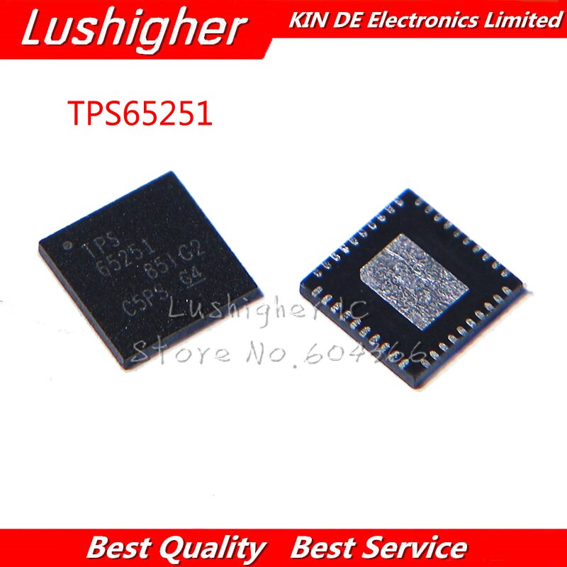 2pcs TPS65251 QFN-40 TPS65251RHAR VQFN-40 QFN Novo Original