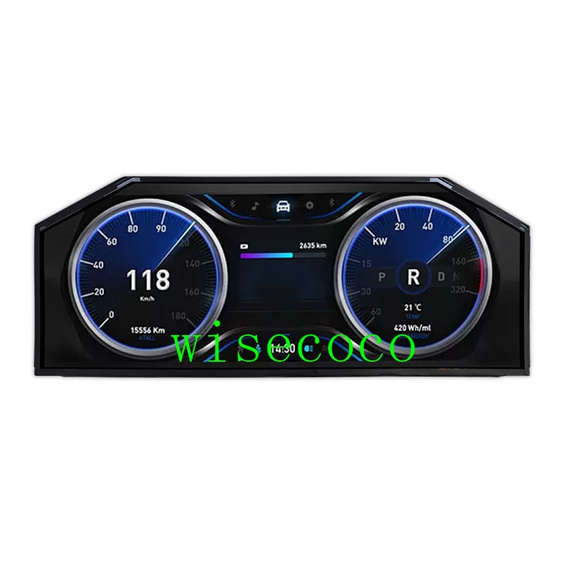 12.3 inch 1920*720 LA123WF5-SL01 bar LCD Display LVDS automotive display
