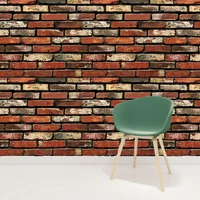 vinyl brick pattern wallpaper peel and stick waterproof wall stickers self adhesive removable wall mural for home bedroom decor